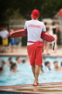 Distracted lifeguard injury lawyer